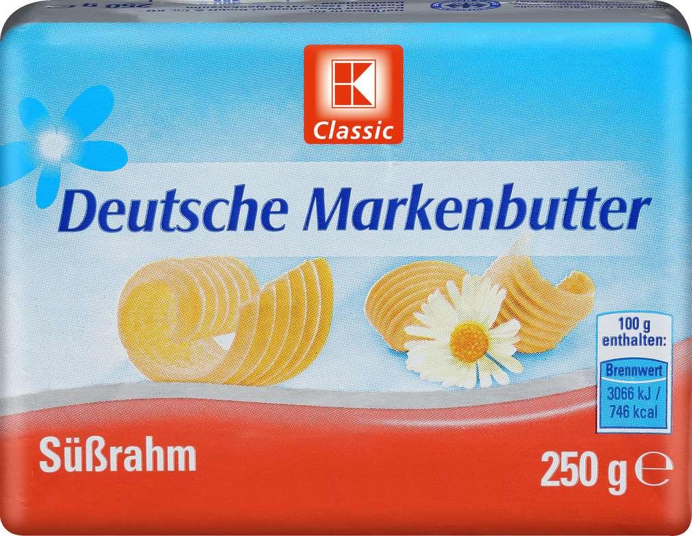 Abbildung des Sortimentsartikels K-Classic Deutsche Markenbutter 250g