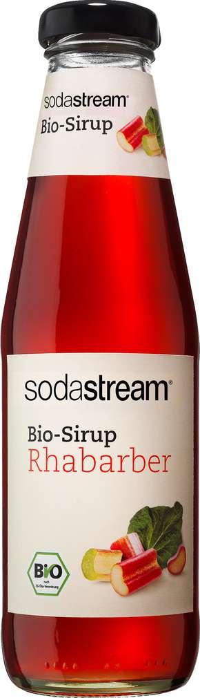 Abbildung des Sortimentsartikels SodaStream Bio-Sirup Rhabarber 500ml