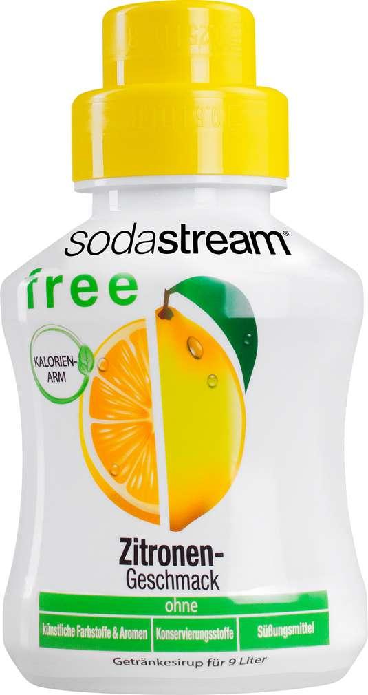 Abbildung des Sortimentsartikels SodaStream Sirup Free Zitrone 375ml
