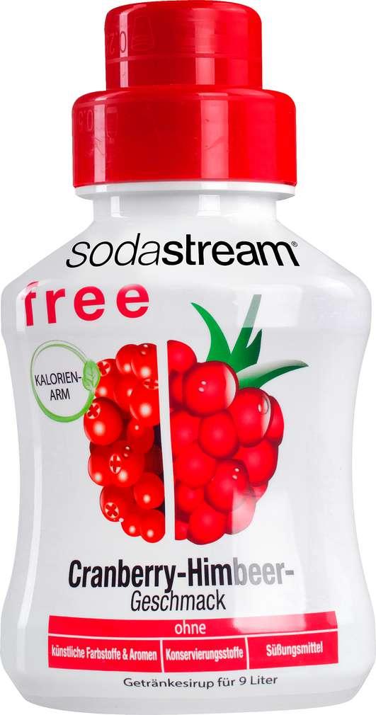 Abbildung des Sortimentsartikels SodaStream Sirup Free Cranberry-Himb. 375ml