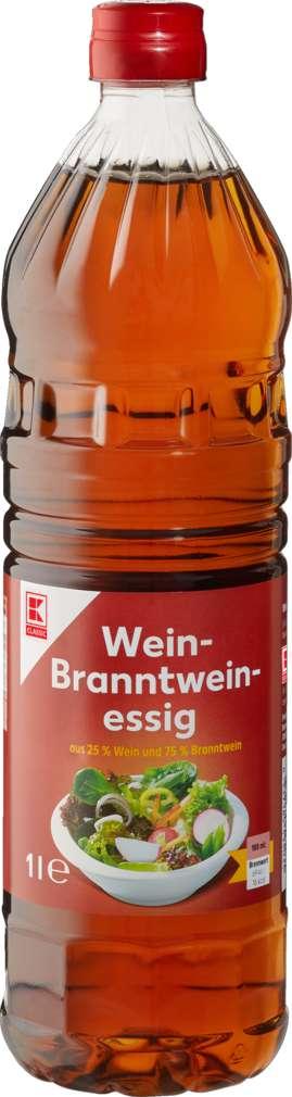 Abbildung des Sortimentsartikels K-Classic Wein-Branntweinessig 5% Säure 1,0l