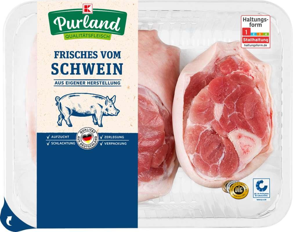 Abbildung des Sortimentsartikels K-Purland Schinkeneisbein / Grillhaxe