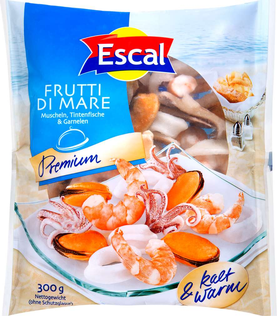 Abbildung des Sortimentsartikels Escal Frutti di Mare Premium 300g