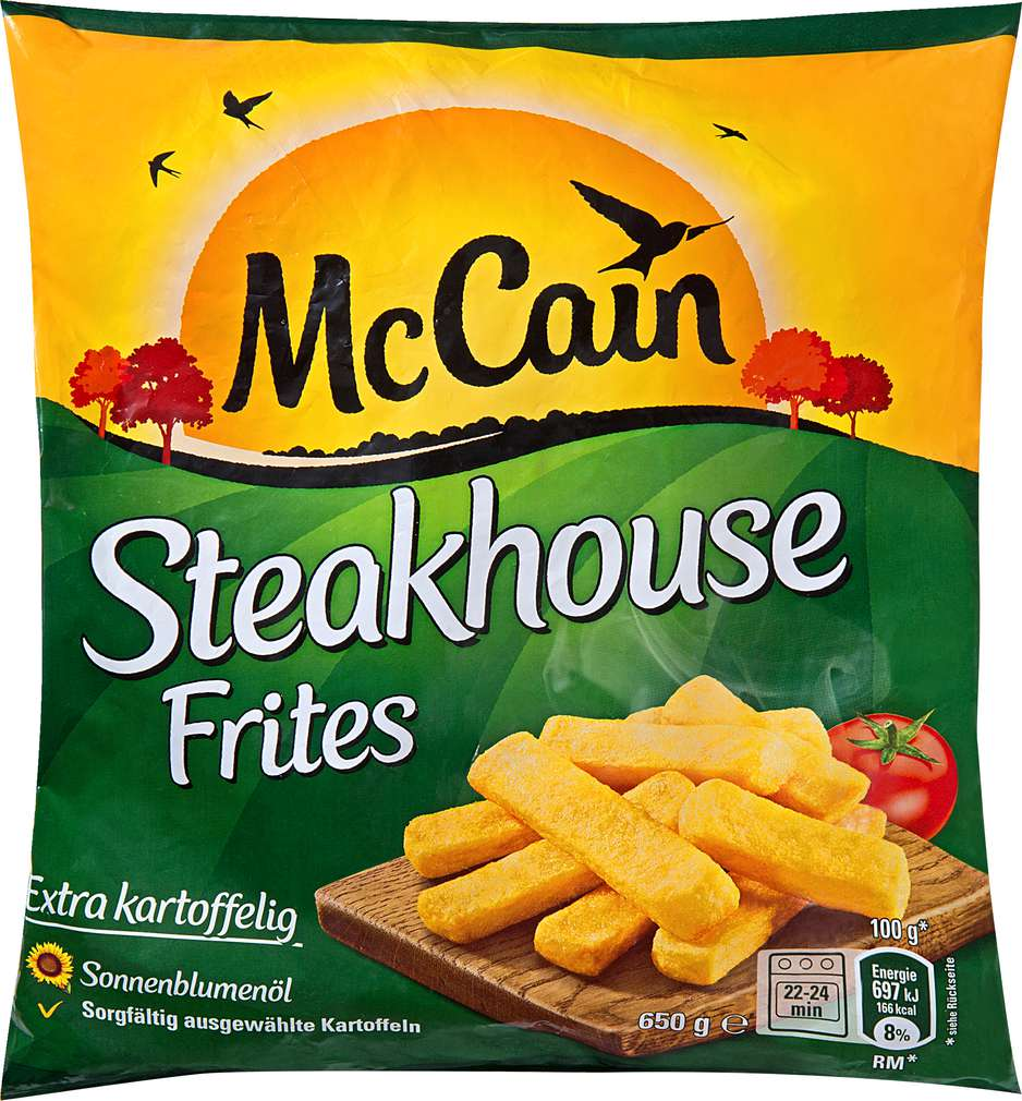 Abbildung des Sortimentsartikels Mc Cain Steakhouse Frites 650g