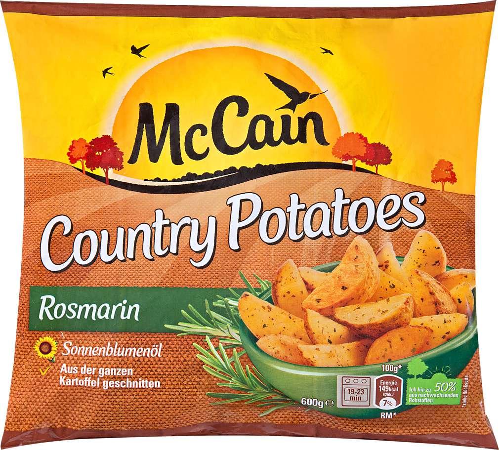Abbildung des Sortimentsartikels Mc Cain Country Potatoes Rosmarin 600g