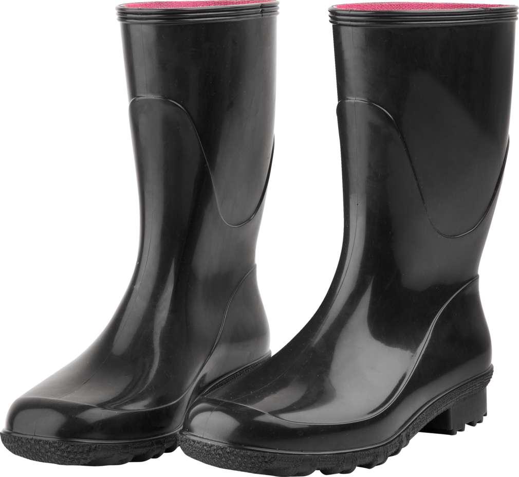 Abbildung des Sortimentsartikels Steffi Damen Regenstiefel schwarz 36-41