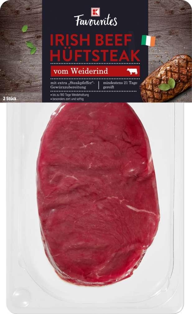 Abbildung des Sortimentsartikels K-Favourites Irish Beef Hüftsteak