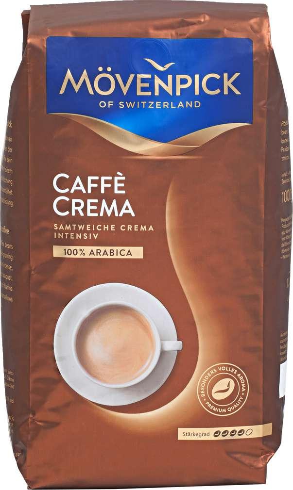 Abbildung des Sortimentsartikels Mövenpick Caffé Crema ganze Bohnen 1000g
