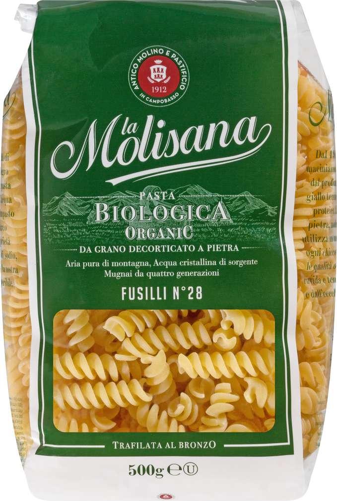 Abbildung des Sortimentsartikels La Molisana Bio-Nudeln Fussilli 500g