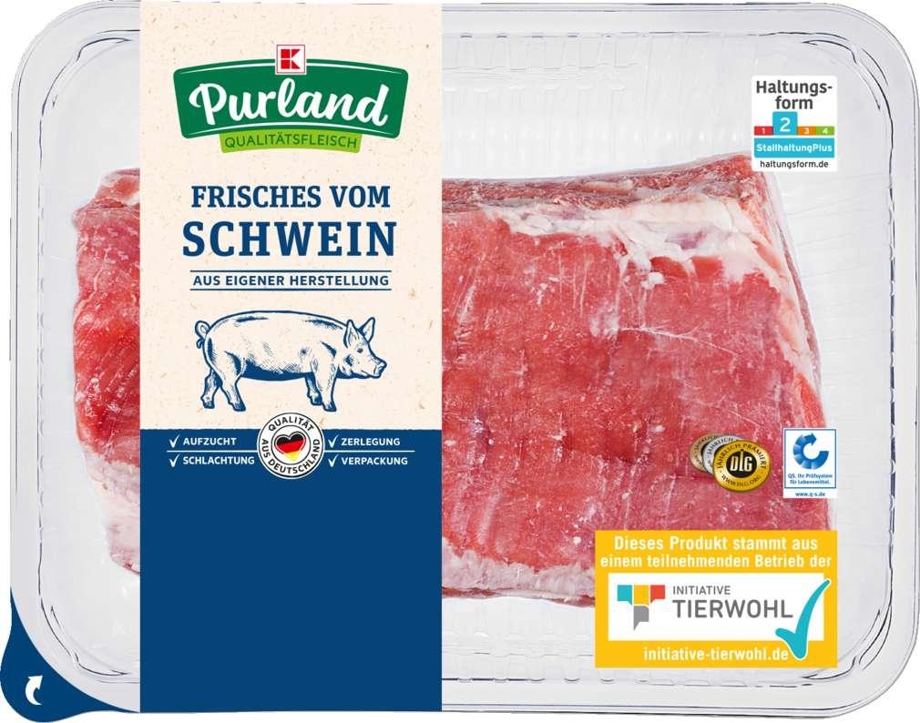 Abbildung des Sortimentsartikels K-Purland Schweinebauch mit Knochen
