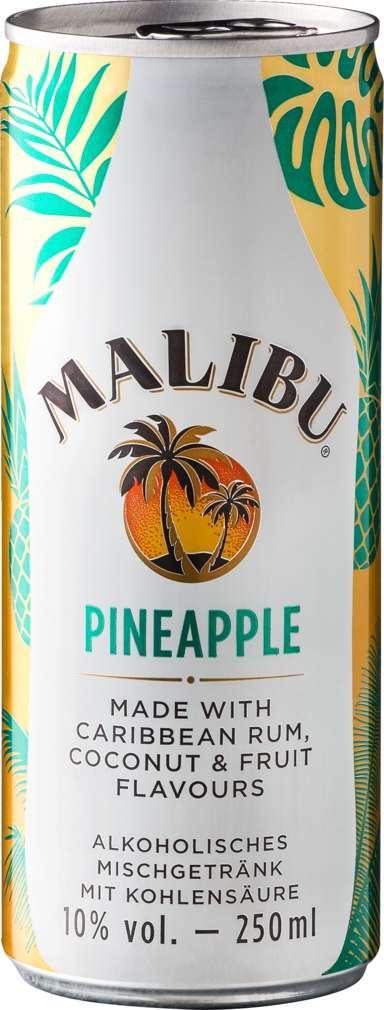 Abbildung des Sortimentsartikels Malibu Pineapple 10%-Vol. 0,25l