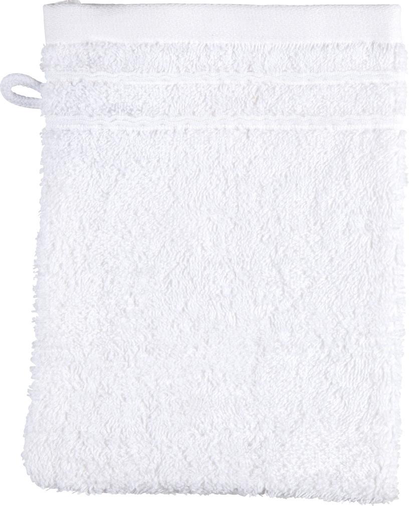 Abbildung des Sortimentsartikels K-Classic Waschhandschuh weiß