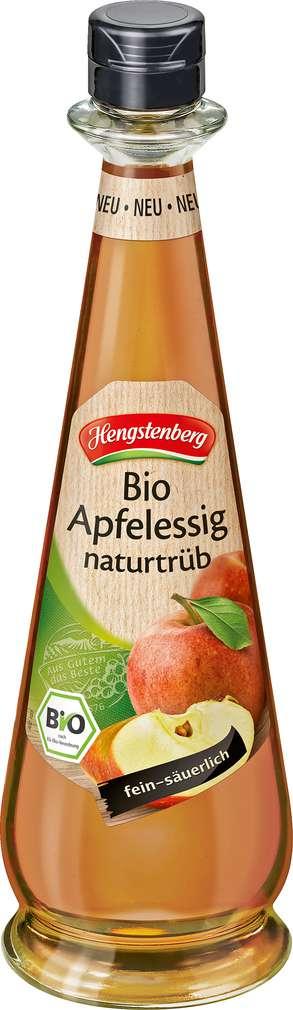 Abbildung des Sortimentsartikels Hengstenberg Bio-Apfelessig naturtrüb 0,5l