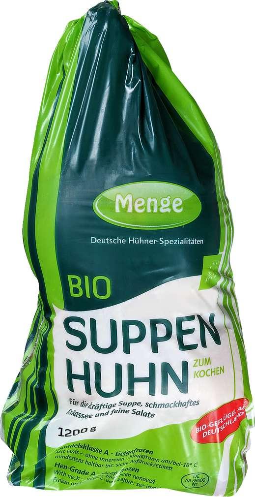 Abbildung des Sortimentsartikels Brefood Bio Suppenhuhn 1200g