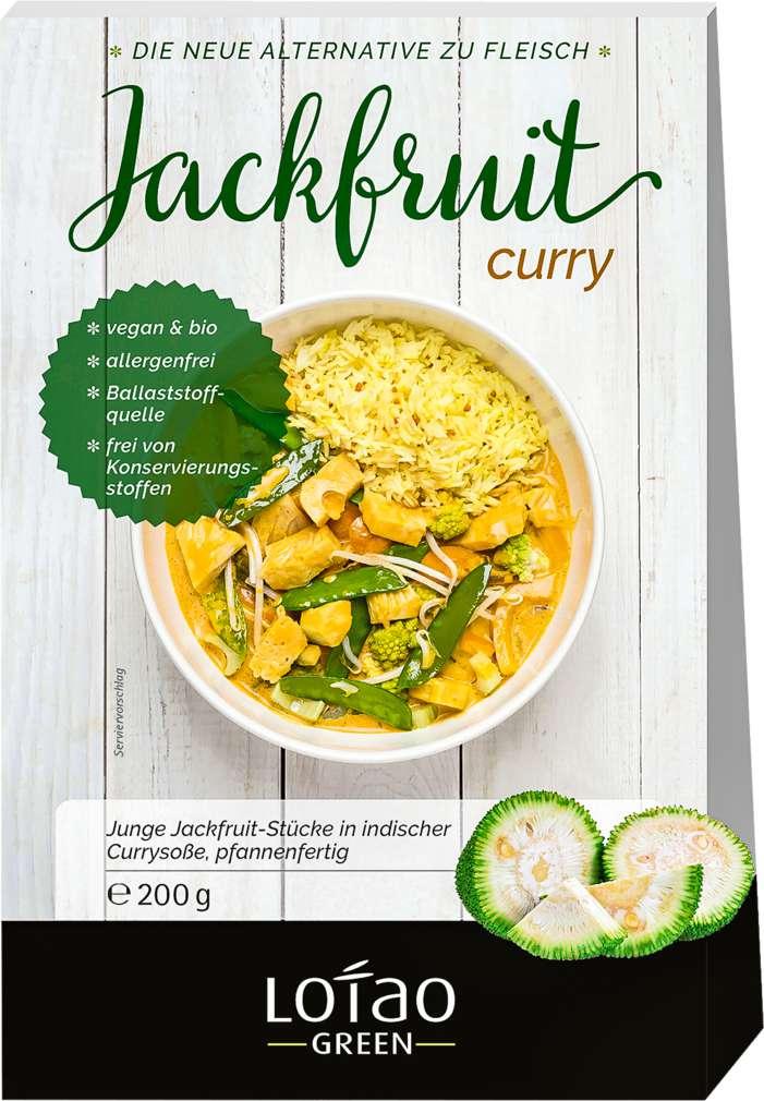 Abbildung des Sortimentsartikels Lotao Latao Bio-Jackfruit Curry 200g