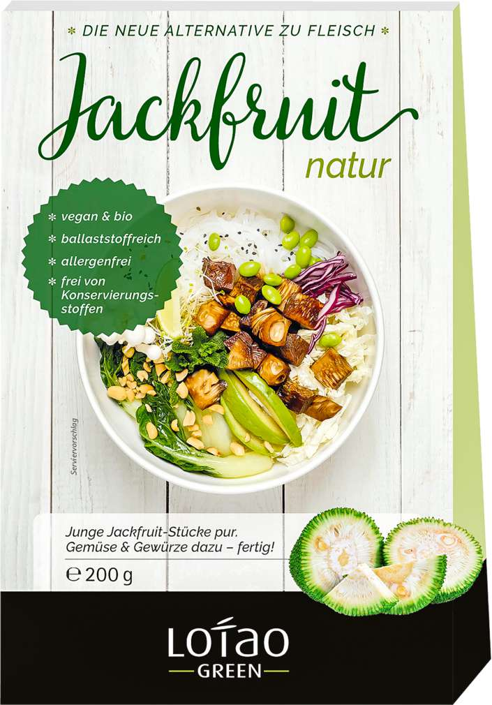 Abbildung des Sortimentsartikels Lotao Bio-Jackfruit Natur 200g