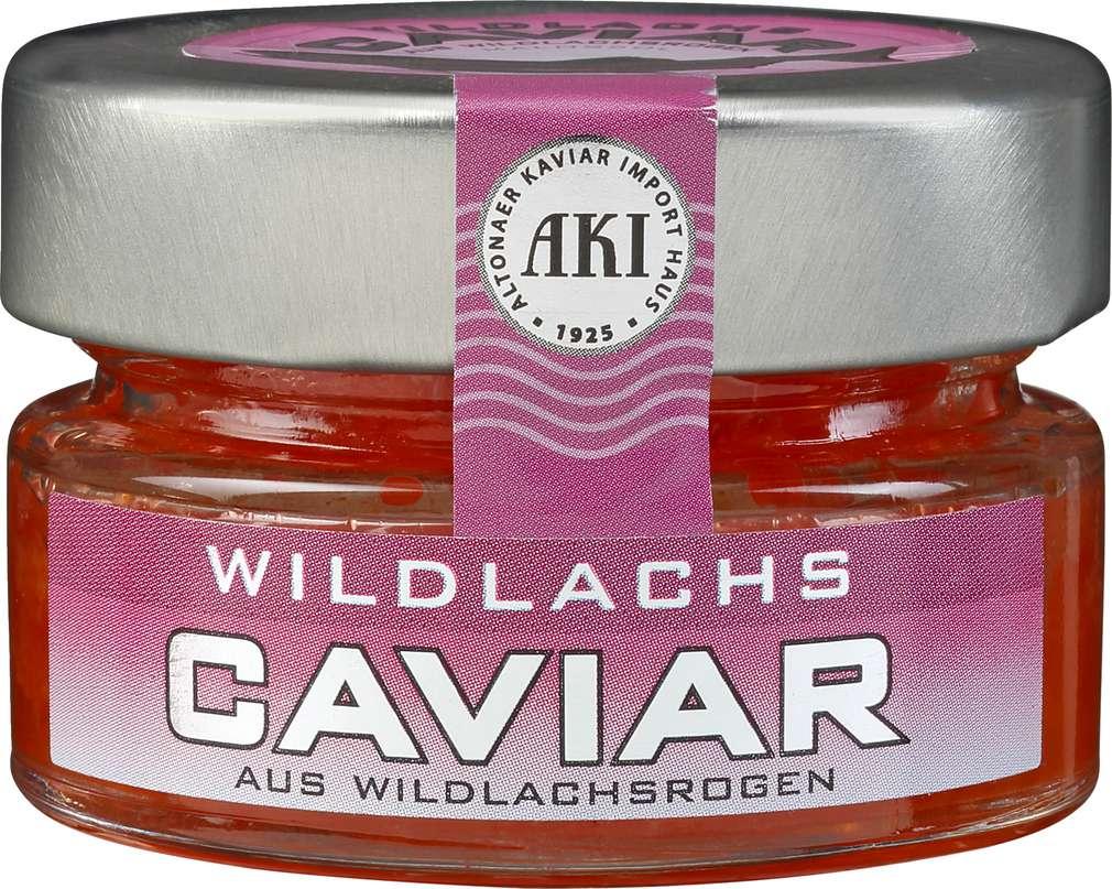 Abbildung des Sortimentsartikels Aki Wildlachs Caviar 50g