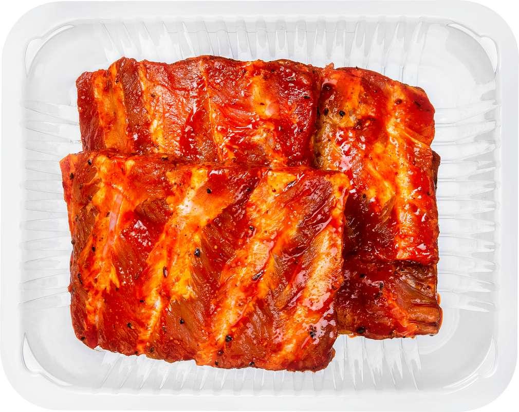 Abbildung des Sortimentsartikels K-Purland Let´s BBQ Spareribs/Schälrippchen Barbecue Style