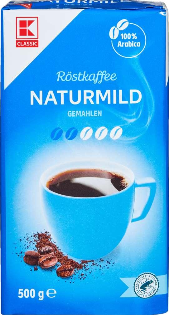 Abbildung des Sortimentsartikels K-Classic Kaffee Naturmild 500g