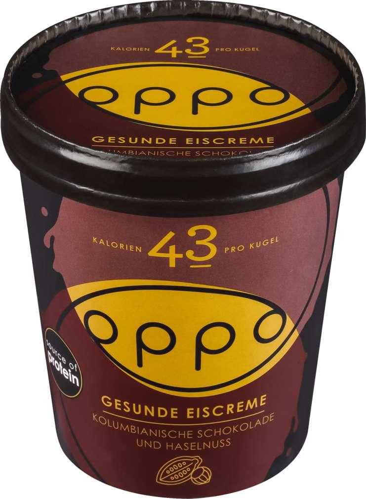 Abbildung des Sortimentsartikels Oppo Chocolate & Hazelnut Ice Cream 500ml
