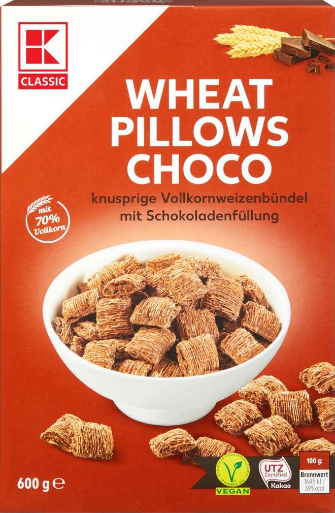 Abbildung des Sortimentsartikels K-Classic Wheat Crunchies Choco 600g