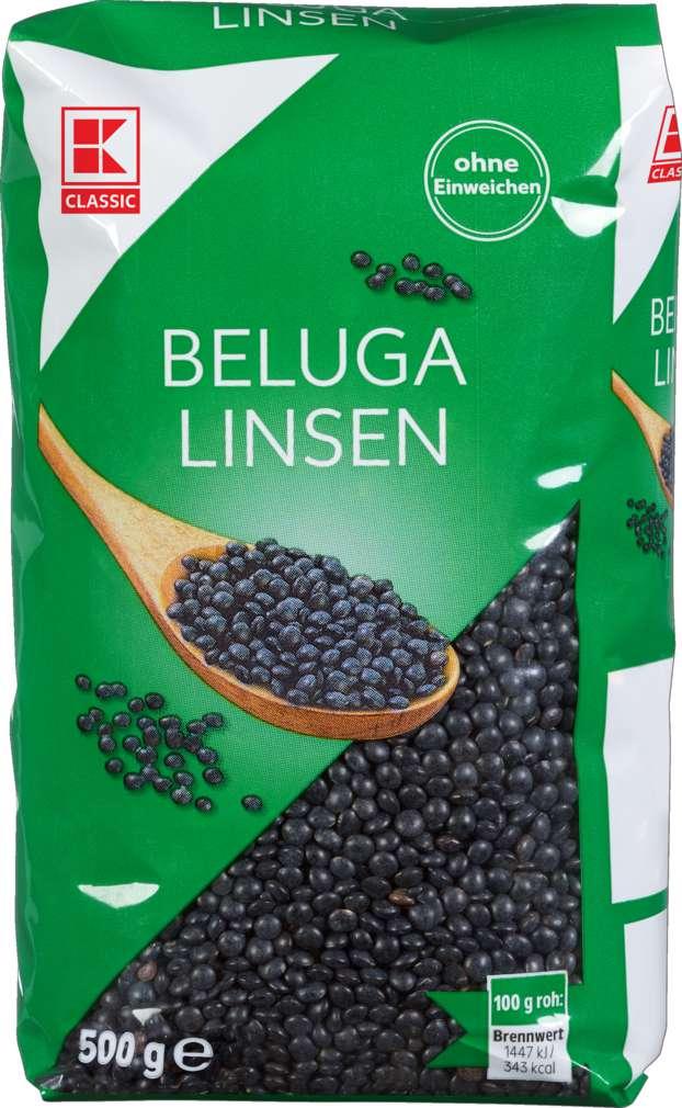 Abbildung des Sortimentsartikels K-Classic Beluga Linsen 500g