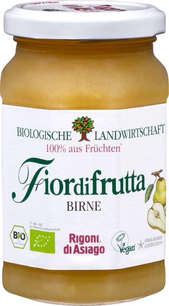 Abbildung des Sortimentsartikels Fiordifrutta Fruchtaufstrich Birne Bio 250g