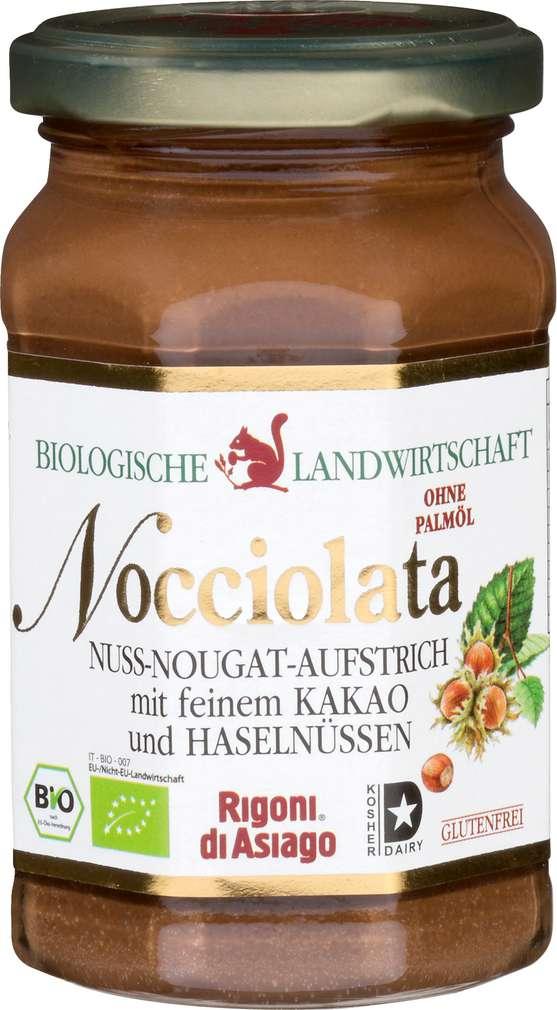 Abbildung des Sortimentsartikels Nocciolata Nuss-Nougat-Aufstrich Bio 270g
