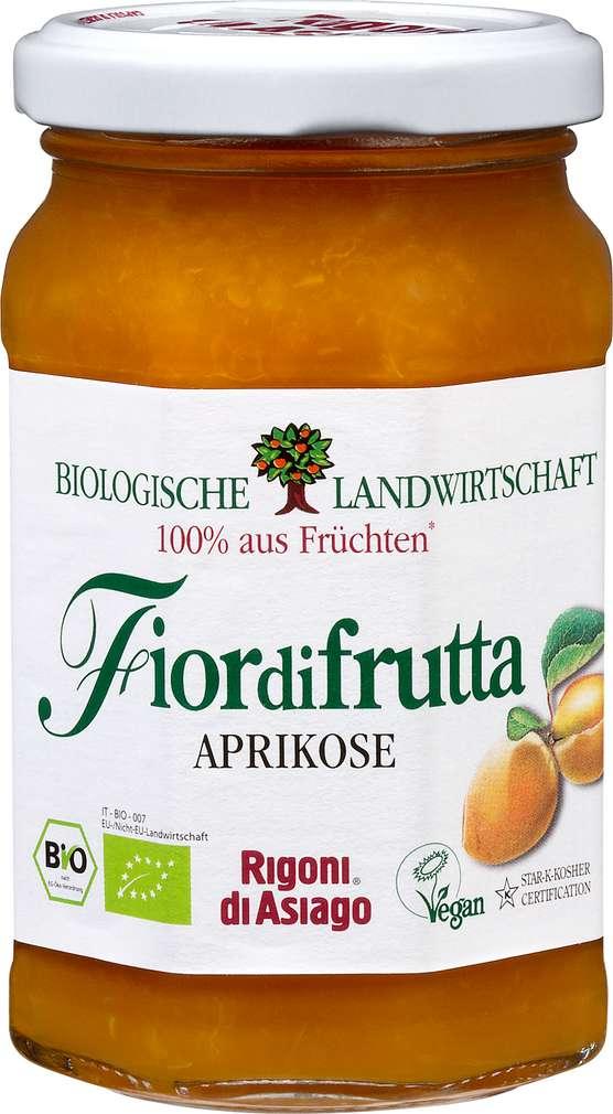 Abbildung des Sortimentsartikels Fiordifrutta Fruchtaufstrich Aprikose Bio 250g