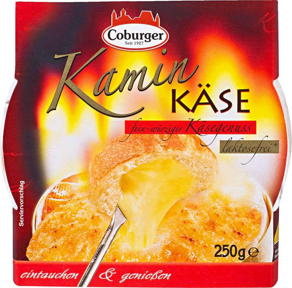 Abbildung des Sortimentsartikels Coburger Kamin Käse 250g