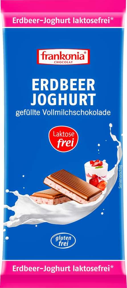 Abbildung des Sortimentsartikels Frankonia Erdbeer-Joghurt lf gf 100g