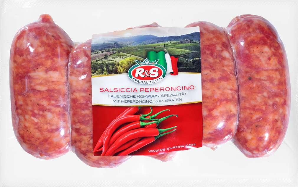 Abbildung des Sortimentsartikels Fleigro Salsiccia Peperoncino 300g