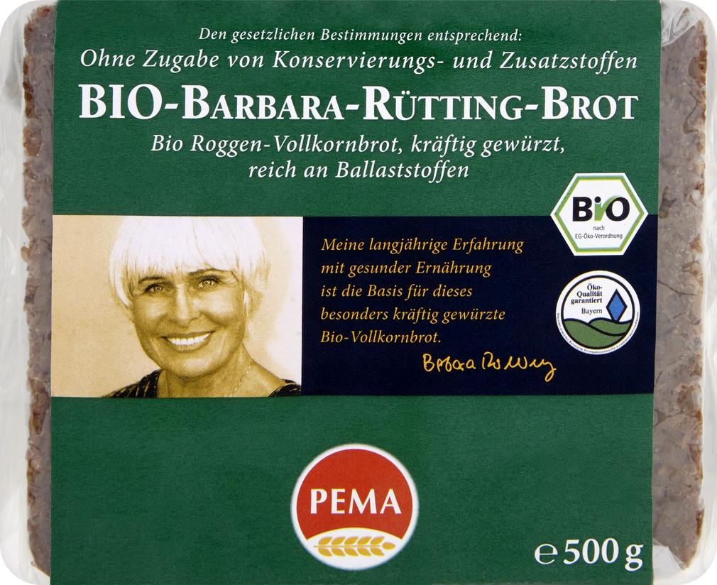 Abbildung des Sortimentsartikels Pema Roggen-Vollkornbrot 500g