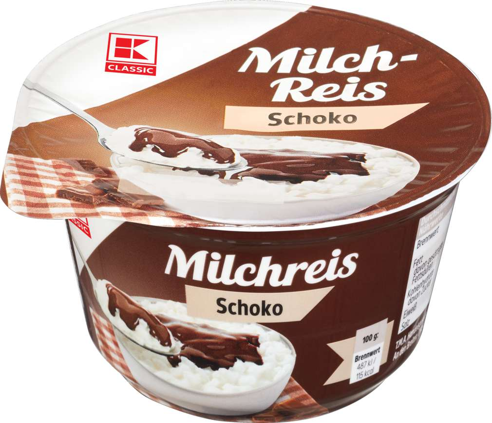 Abbildung des Sortimentsartikels K-Classic Milchreis Schoko 200g