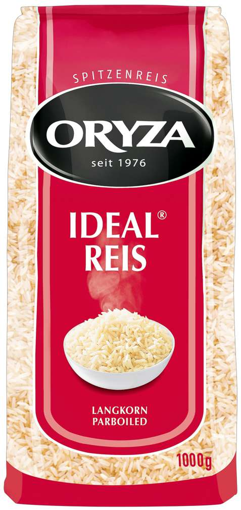 Abbildung des Sortimentsartikels Oryza Ideal Reis parboiled, lose 1000g