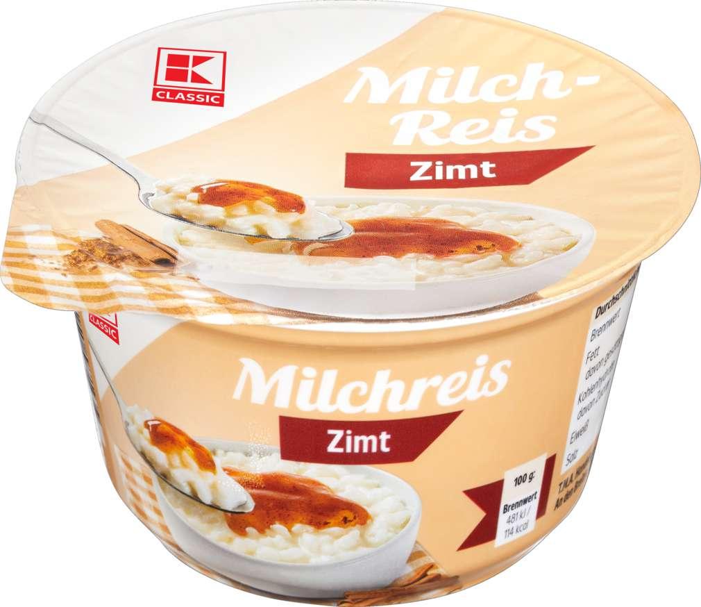 Abbildung des Sortimentsartikels K-Classic Milchreis Zimt 200g