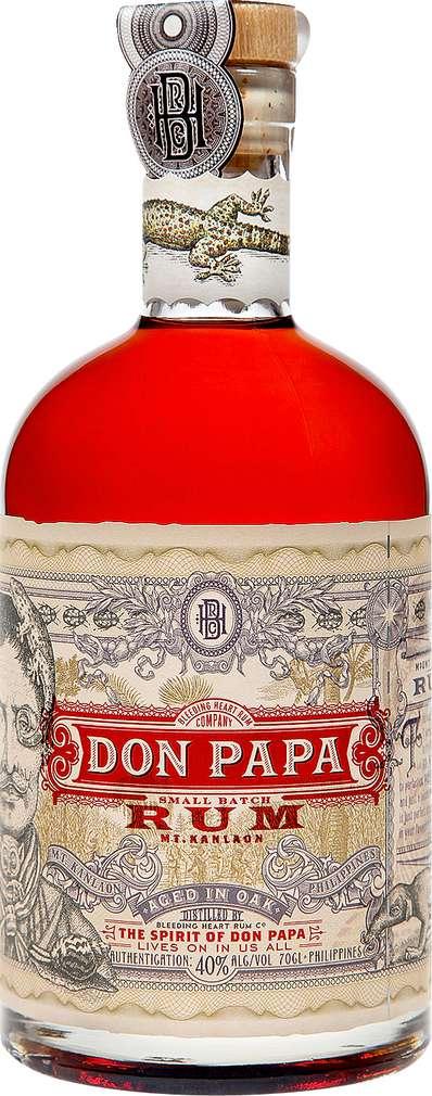 Abbildung des Sortimentsartikels Don Papa Rum 0,7l