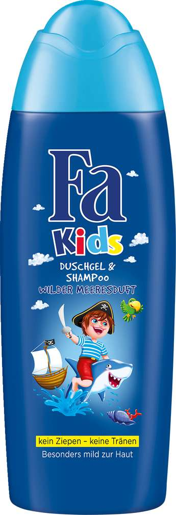 Abbildung des Sortimentsartikels Fa Kids Duschgel & Shampoo 250ml