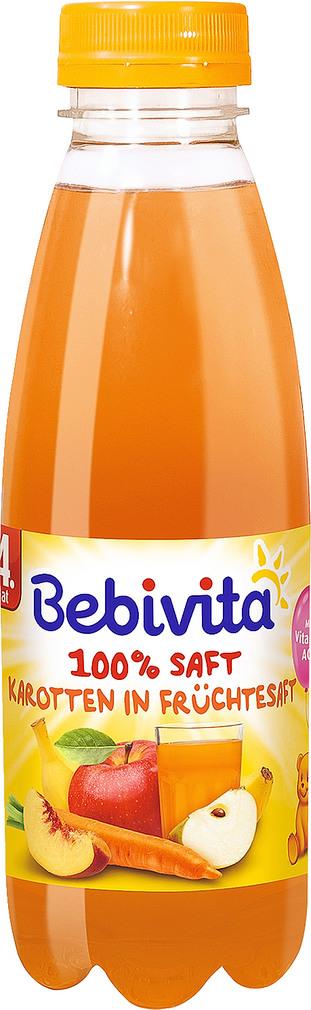 Abbildung des Sortimentsartikels Bebivita Karotten in Früchtesaft 0,5l