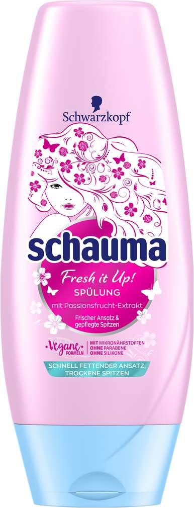 Abbildung des Sortimentsartikels Schwarzkopf Schauma Spülung Fresh it Up 250ml