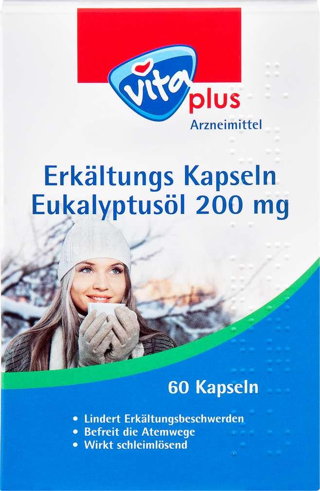 Abbildung des Sortimentsartikels Vita plus Erkältungs-Kapseln 60 Stück