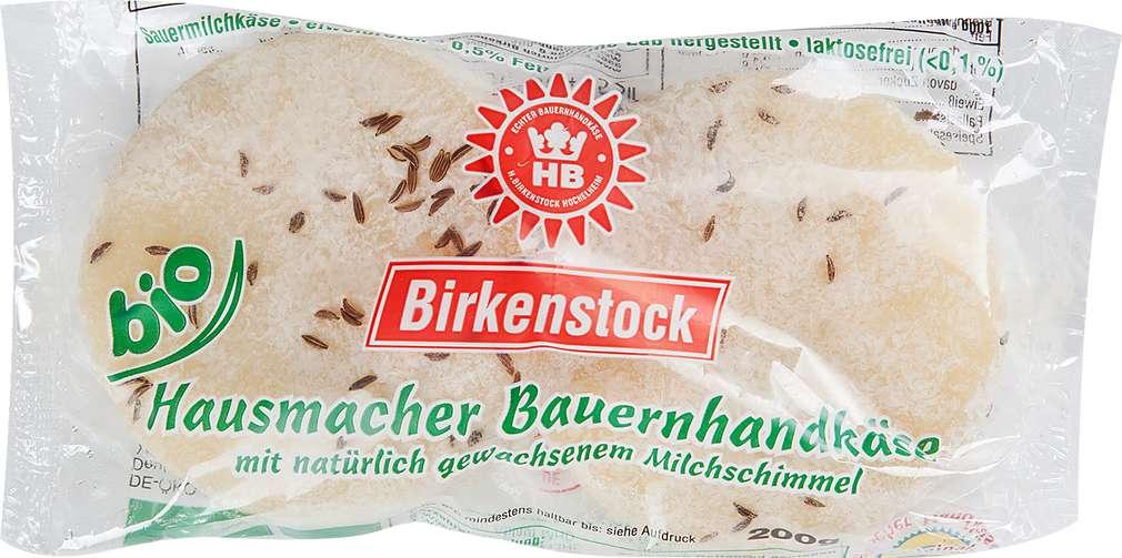 Abbildung des Sortimentsartikels Birkenstock Bio-Bauernhandkäse 2x100g