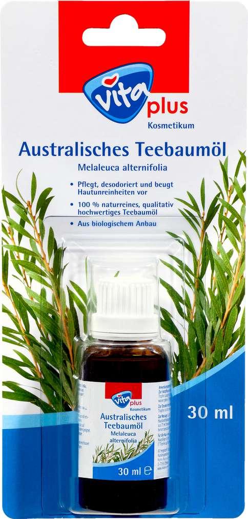 Abbildung des Sortimentsartikels Vita plus australisches Teebaumöl 30ml