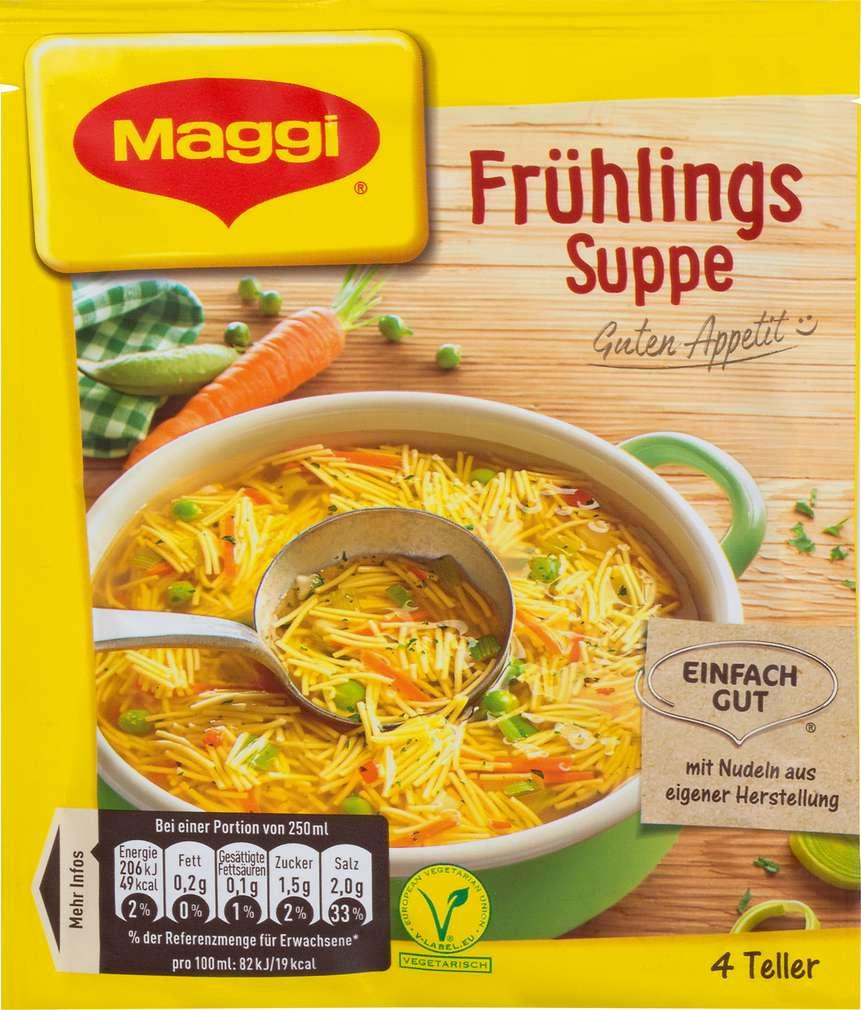 Abbildung des Sortimentsartikels Maggi Frühlingssuppe 4 Teller