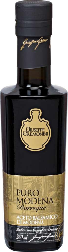 Abbildung des Sortimentsartikels Giuseppe Cremonini Aceto Balsamico di Modena I.G.P. Barrique 250ml