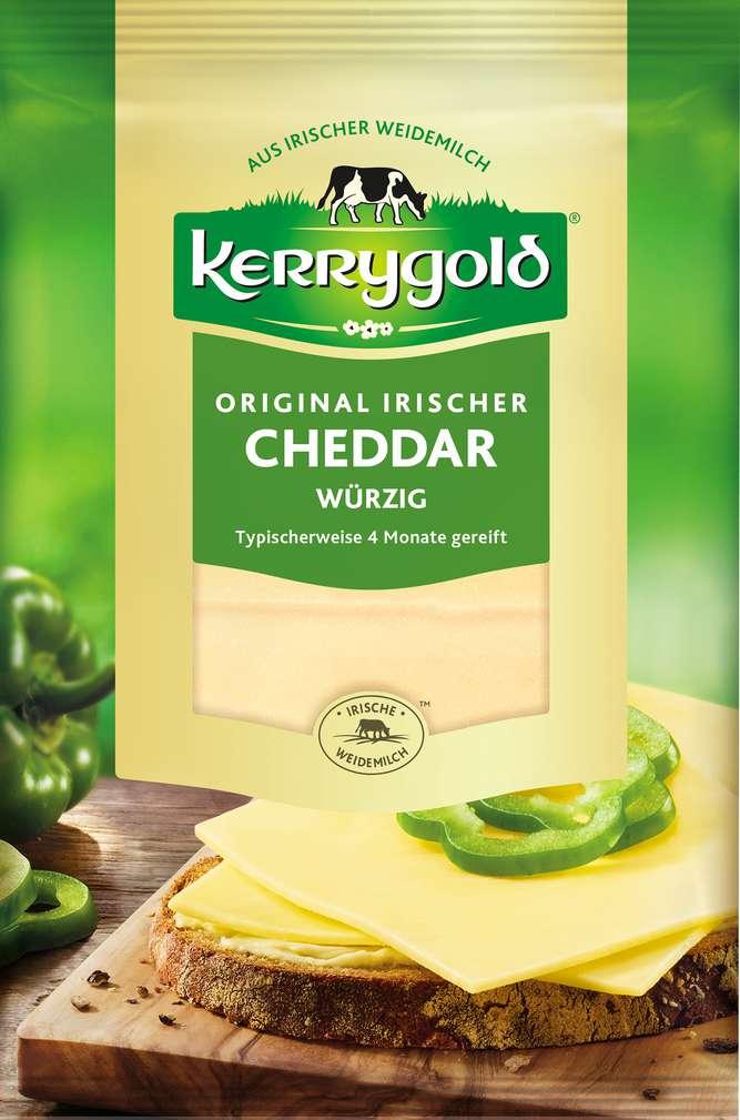 Abbildung des Sortimentsartikels Kerrygold Original irischer Cheddar würzig 150g