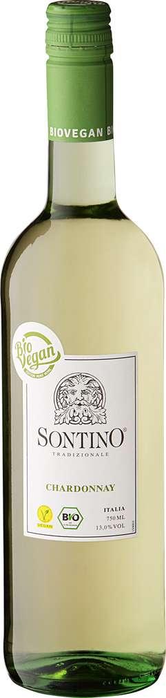 Abbildung des Sortimentsartikels Sontino Chardonnay 0,75l