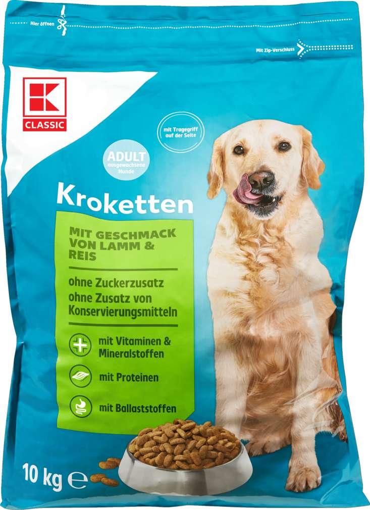 Abbildung des Sortimentsartikels K-Classic Hundenahrung Kroketten Lamm & Reis 10kg