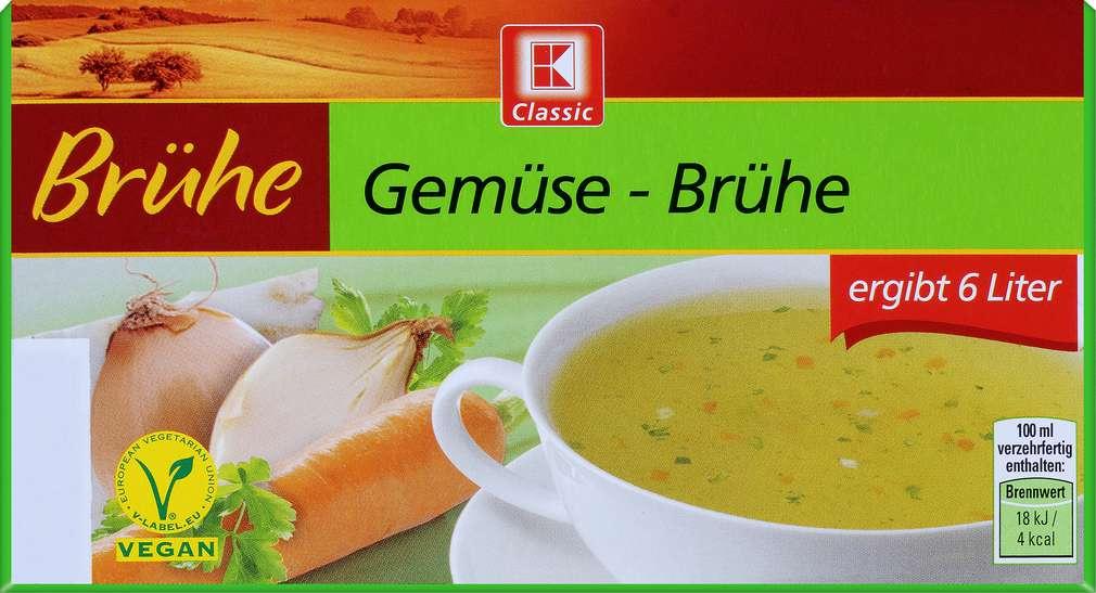 Abbildung des Sortimentsartikels K-Classic Gemüse-Brühe 120g
