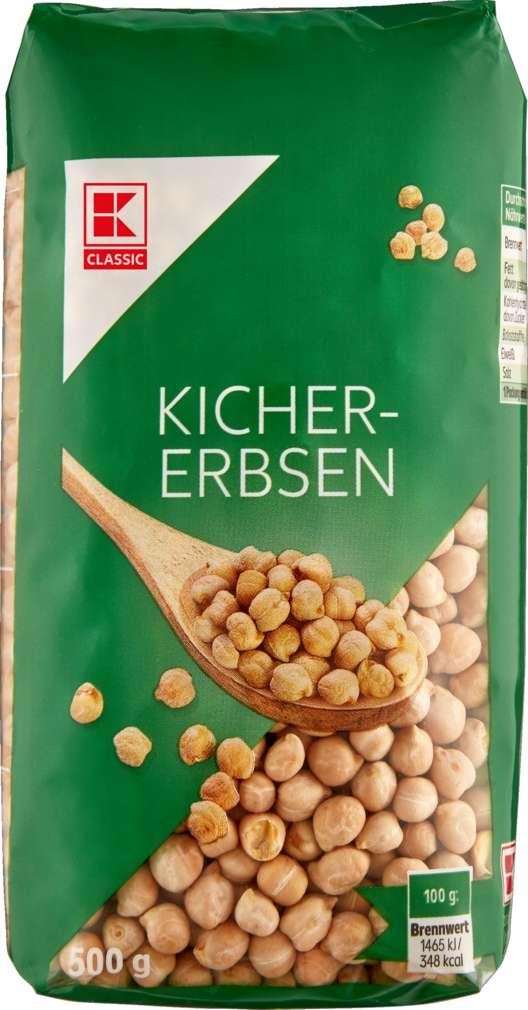 Abbildung des Sortimentsartikels K-Classic Kichererbsen 500g